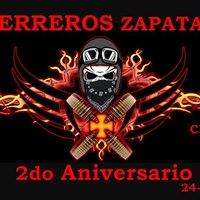 Guerreros Zapata MC - Segundo aniversario