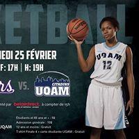 Basketball Bishops VS UQAM