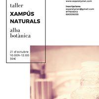 Taller de xamps naturals - Espai Elysian Tarragona
