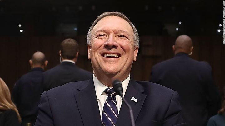 Rally Against Pompeo