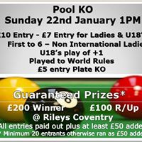 Pool KO - 300 Guaranteed Prizes