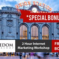 FREE 2 Hr Internet Marketing Online Business Workshop in Thornton CO USA