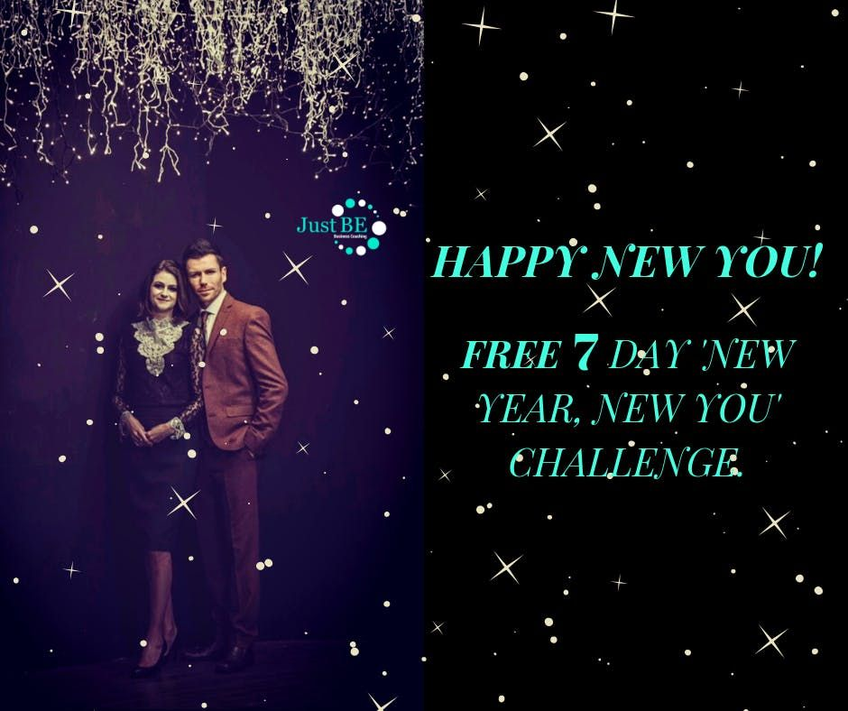 FREE 7 day New Year New You Challenge Happy New You