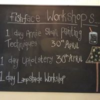 Upholstery &amp Annie Sloan Paint Techniques Workshops at fishface