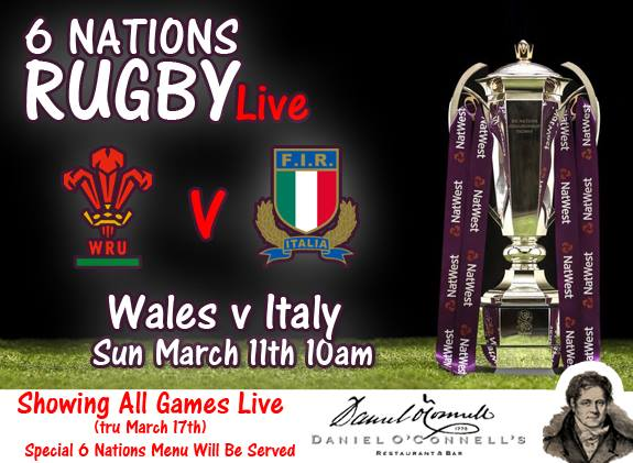 Image result for Wales vs Italy Six Nation Rugby 2018 Live