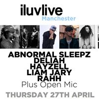 Iluvlive Manchester at Fallow Cafe  27.4.17