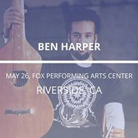 Ben Harper in Riverside
