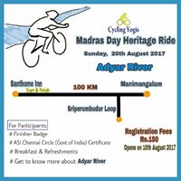 MADRAS DAY HERITAGE RIDE - CYCLING YOGIS