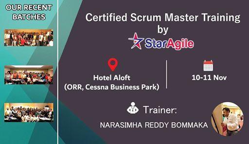 Certified Scrum Master (CSM) Training