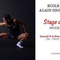 Stage de Danse Modern Jazz - Alain Gruttadauria