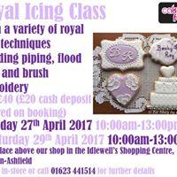 Royal Icing Class