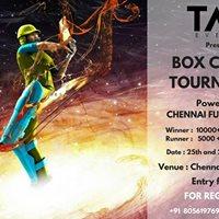 Box cricket Tournament 2017