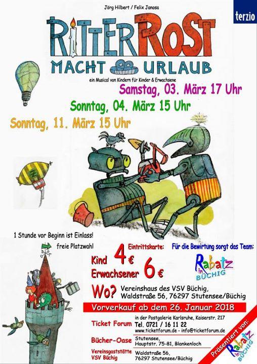 Ritter Rost macht Urlaub at Waldstraße 56, 76297 Stutensee ...
