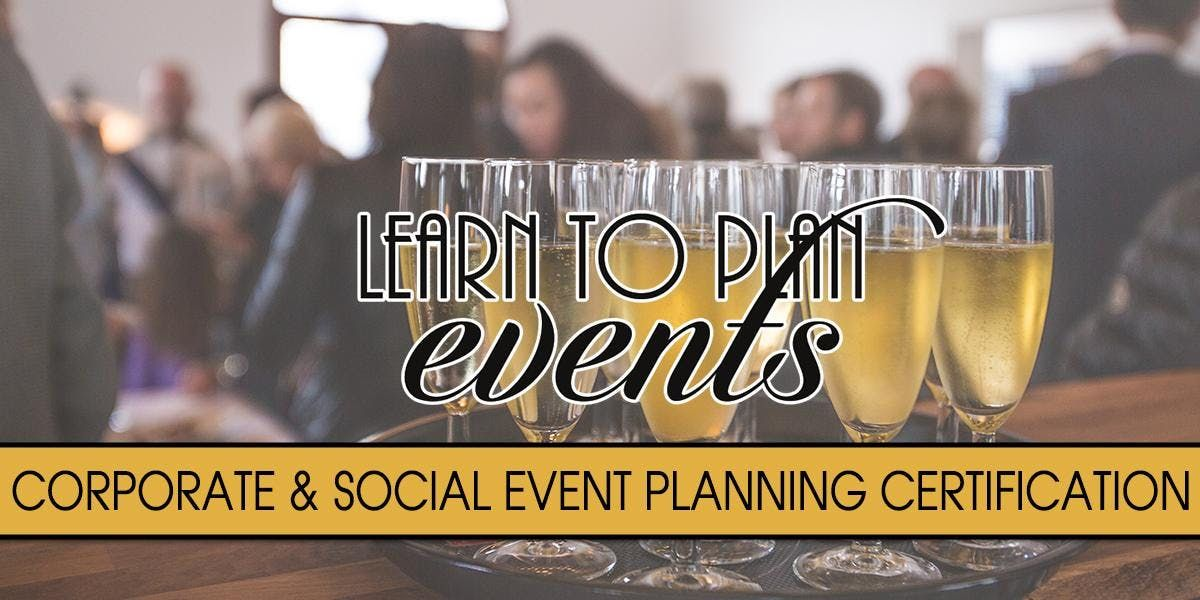 Event Planning Certification By Learn To Plan Events Fayetteville