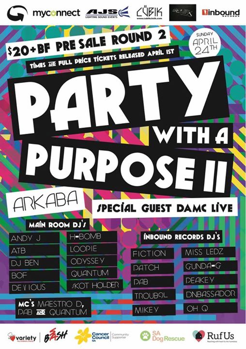 Party With A Purpose II - Top of the Arkaba