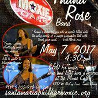 Ynana Rose Band at The Moxie Cafe