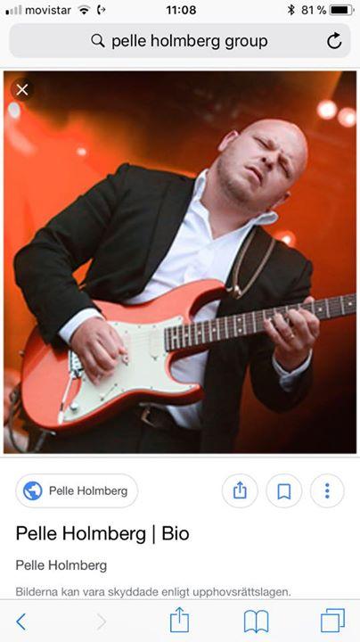 Pelle Holmberg Group p Kerstin Live