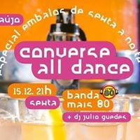 Converse All Dance com Banda Mais 80 - 1512 2100