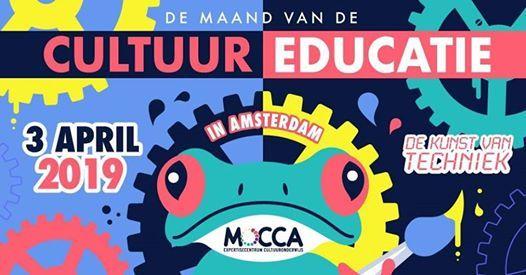 Congres Cultuureducatie in Amsterdam - De Kunst van Techniek
