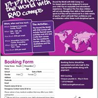 Round the World with RAD Sports Camp - Kincardine