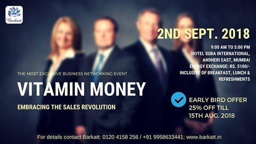 Vitamin Money - Embracing the Sales Revolution