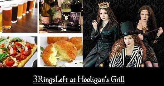 3RingsLeft at Hooligans Grill