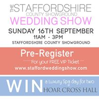 The Staffordshire County Showground Wedding Show