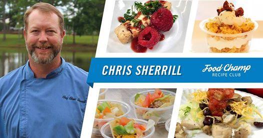 Food Champ Recipe Club Demos with Chris Sherrill