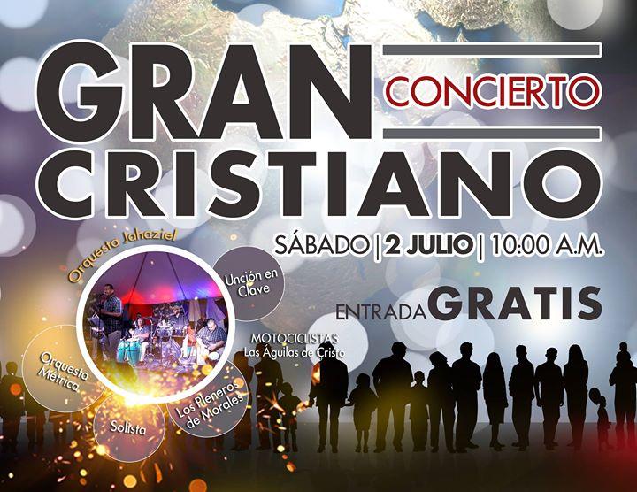 Gran concierto cristiano at bo santa clara aguas buenas for Rio grande arts and crafts festival 2016