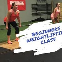 Beginners Weightlifting Class