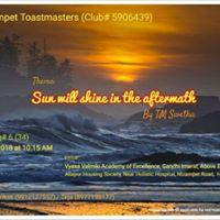 Nizampet Toastmasters Meeting 6