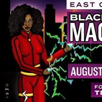 Black Super Hero Magic Mama