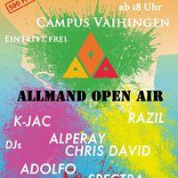 Allmand Open Air 2017