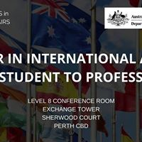 A Career in International Affairs From Student to Professional