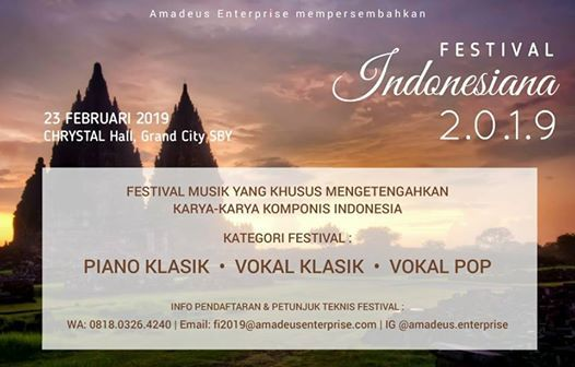 FESTIVAL INDONESIANA 2019