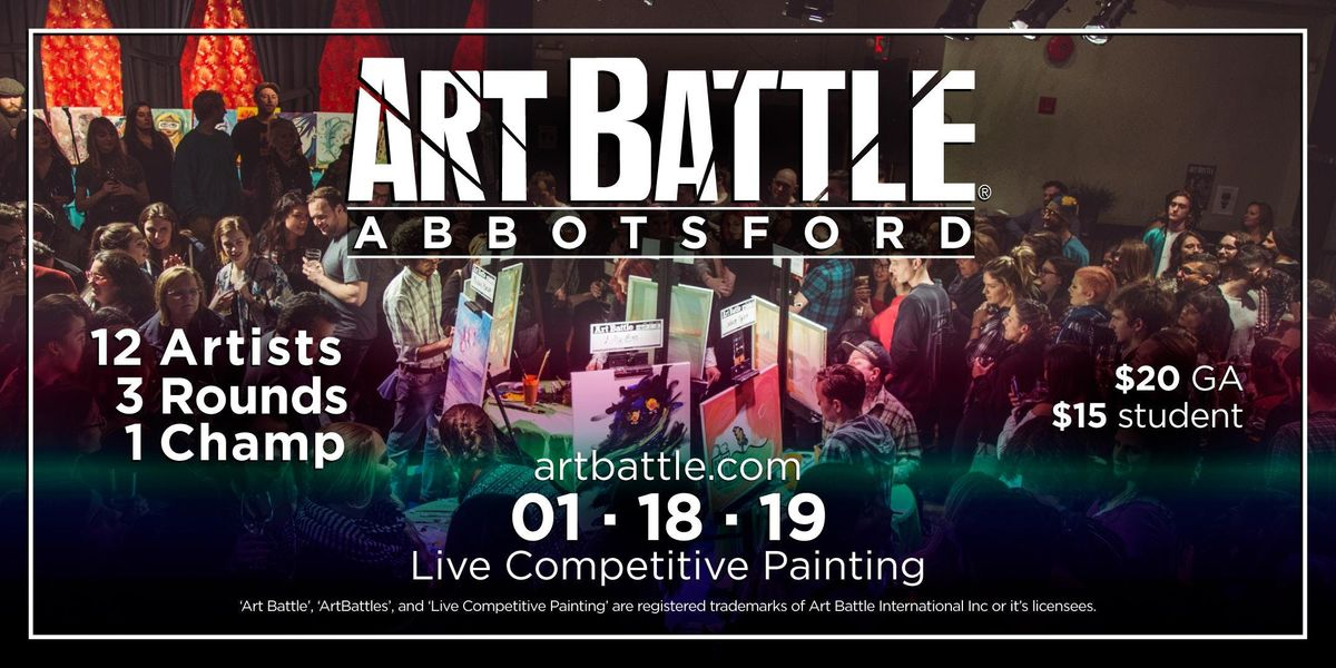 Art Battle Abbotsford - January 18 2019