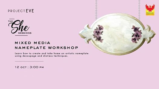 The She Sessions - Nameplate Workshop