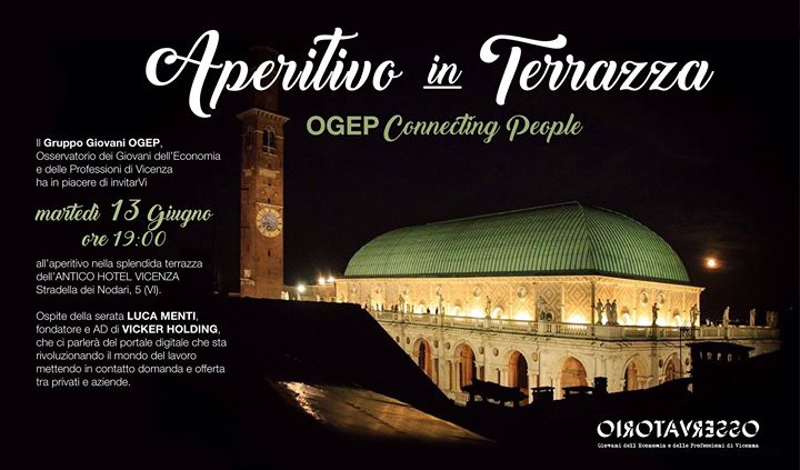 Aperitivo in Terrazza - OGEP connecting People at terrazza, antico ...