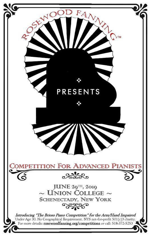2019 Competition for Advanced Pianists & Other Musicians at
