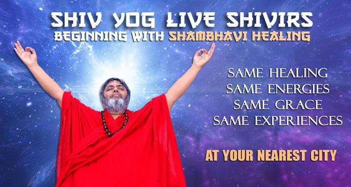 Shivyog Live Shambhavi Healing Shivir at 1st Floor Minerva