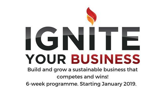 Ignite Your Business 2019 Training Programme - Harare 26th Jan