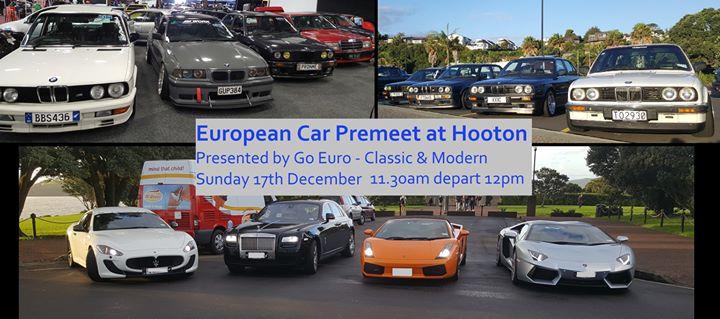 Euro Car Premeet At Hooton Reserve Xmas Meet Bbq Auckland