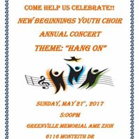 New Beginnings Youth Choir Annual Concert