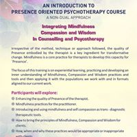 An introduction to Presence Oriented Psychotherapy