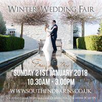 The Deloreans at Southend Barns Winter Wedding Fair