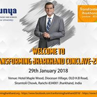Transforming Jharkhand Conclave 2018