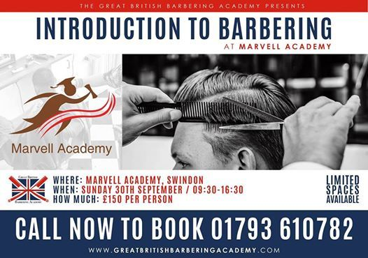 Introduction to Barbering - September 30th 2018