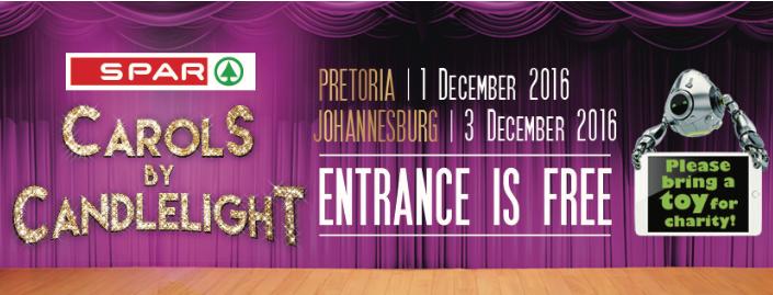 Jacaranda FM SPAR Carols by Candlelight - Johannesburg at