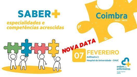 Saber Especialidades e Competncias Acrescidas - Coimbra