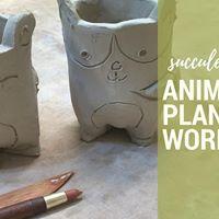 Pottery Workshop - Succulent Planter (Handbuilding Workshop)